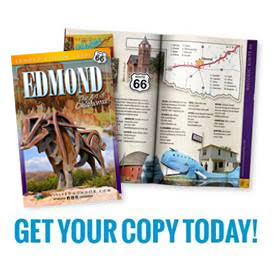 Request a copy of the Edmond Visitors Guide